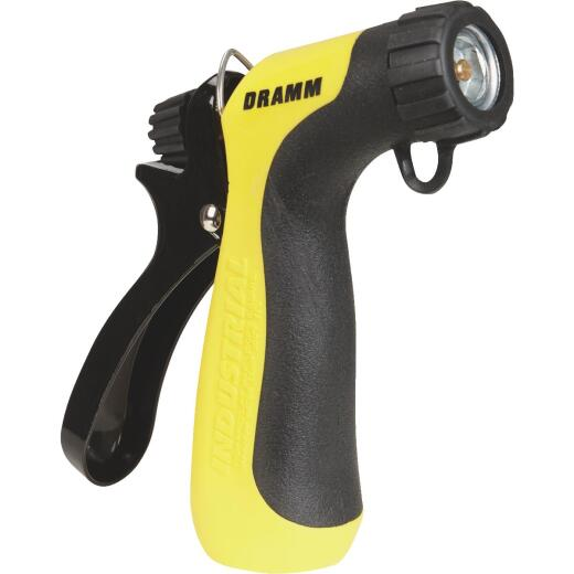 Dramm Heavy-Duty Metal Hot Water Pistol Nozzle, Yellow