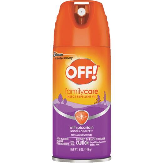 Off Family Care 5 Oz. Insect Repellent Aerosol Spray