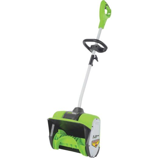 Greenworks 12 In. 8A Electric Snow Blower Shovel